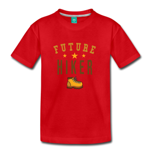Toddler Future Hiker T-Shirt - red