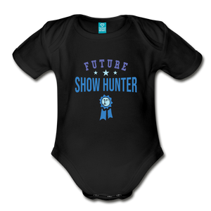 Future Shown Hunter Baby Bodysuit - black