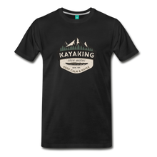 Load image into Gallery viewer, Men's Kayaking T-Shirt - black