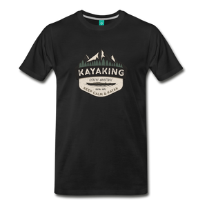 Men's Kayaking T-Shirt - black