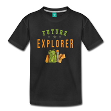 Load image into Gallery viewer, Kids' Future Explorer T-Shirt - black
