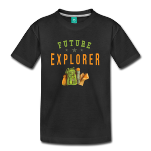 Kids' Future Explorer T-Shirt - black