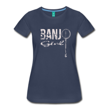 Load image into Gallery viewer, Women's Banjo Girl T-Shirt - navy