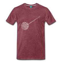 Load image into Gallery viewer, Men's Big Rock Candy Mountain T-Shirt - heather burgundy