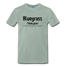 Load image into Gallery viewer, Men's Bluegrass Definition T-Shirt - steel green