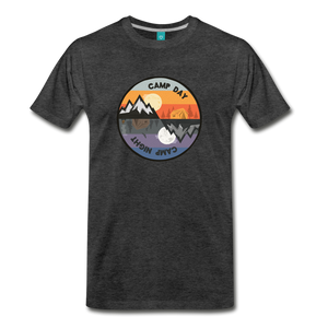 Men's Camp Day T-Shirt - charcoal gray
