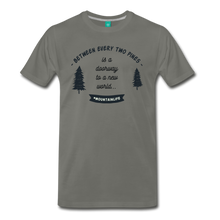 Load image into Gallery viewer, Men's Between Every Two Pines T-Shirt - asphalt