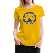 Load image into Gallery viewer, Women's Obstacle is the Way T-Shirt - sun yellow