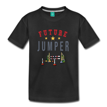 Load image into Gallery viewer, Toddler Future Jumper T-Shirt - black