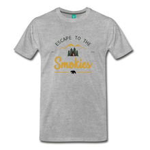 Load image into Gallery viewer, Men's Escape to the Smokies T-Shirt - heather gray