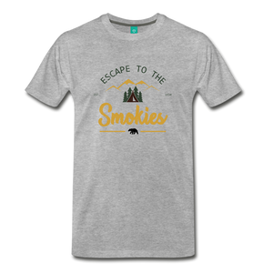 Men's Escape to the Smokies T-Shirt - heather gray