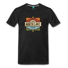 Load image into Gallery viewer, Men's North Lake T-Shirt - black