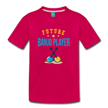 Load image into Gallery viewer, Kids' Future Banjo Player T-Shirt - dark pink