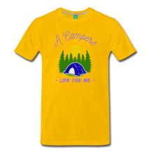 Load image into Gallery viewer, Men's Campers Life T-Shirt - sun yellow