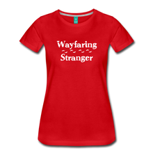 Load image into Gallery viewer, Women's Wayfaring Stranger T-Shirt - red