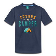 Load image into Gallery viewer, Kids' Future Camper T-Shirt - navy