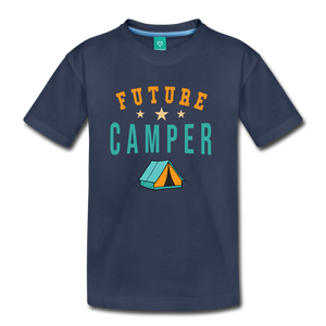 Kids' Future Camper T-Shirt - navy