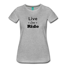 Load image into Gallery viewer, Women's Live Lover Ride T-Shirt - heather gray