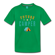 Load image into Gallery viewer, Toddler Future Camper T-Shirt - kelly green