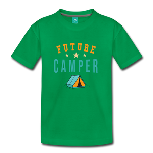 Toddler Future Camper T-Shirt - kelly green