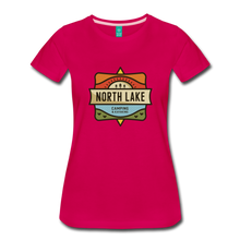 Load image into Gallery viewer, Women's North Lake T-Shirt - dark pink