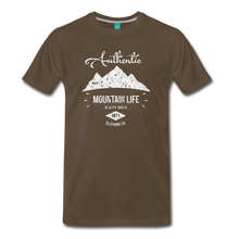 Load image into Gallery viewer, Men's Authentic Mountain Clothing Co. T-Shirt - noble brown