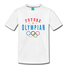 Load image into Gallery viewer, Kids' Future Olympian T-Shirt - white
