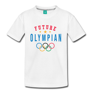 Kids' Future Olympian T-Shirt - white
