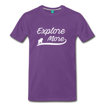 Load image into Gallery viewer, Men's Explore More T-Shirt - purple