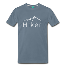 Load image into Gallery viewer, Men's Hiker T-Shirt - steel blue