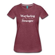 Load image into Gallery viewer, Women's Wayfaring Stranger T-Shirt - heather burgundy