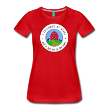 Load image into Gallery viewer, Women's Followed my Heart (colored) T-Shirt - red