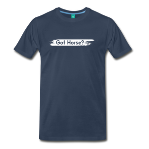 Men's Got Horse T-Shirt - navy