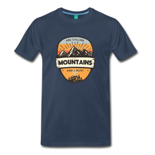 Load image into Gallery viewer, Men's Mountain's Calling T-Shirt - navy