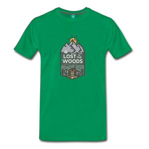 Men's Lost T-Shirt - kelly green