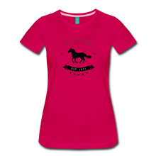 Load image into Gallery viewer, Women's Live to Ride T-Shirt - dark pink