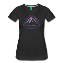 Load image into Gallery viewer, Women's Take me on an Adventure T-Shirt - black