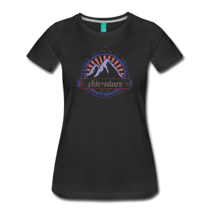 Women's Take me on an Adventure T-Shirt - black
