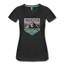 Load image into Gallery viewer, Women's Wander T-Shirt - black