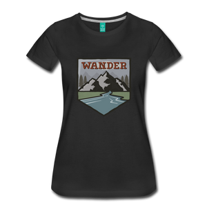 Women's Wander T-Shirt - black