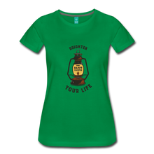 Load image into Gallery viewer, Women's Lantern T-Shirt - kelly green