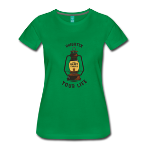 Women's Lantern T-Shirt - kelly green