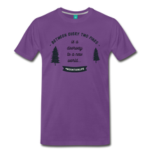 Load image into Gallery viewer, Men's Between Every Two Pines T-Shirt - purple