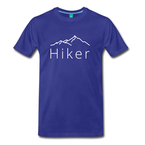 Men's Hiker T-Shirt - royal blue