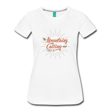 Load image into Gallery viewer, Women's Mountain Calling T-Shirt - white