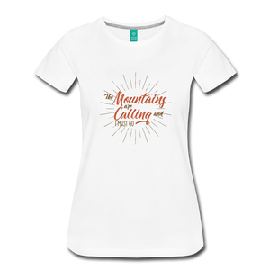 Women's Mountain Calling T-Shirt - white
