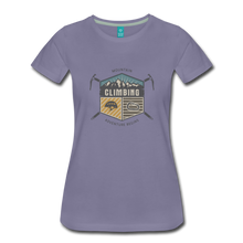 Load image into Gallery viewer, Women's Climbing T-Shirt - washed violet