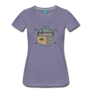 Women's Climbing T-Shirt - washed violet