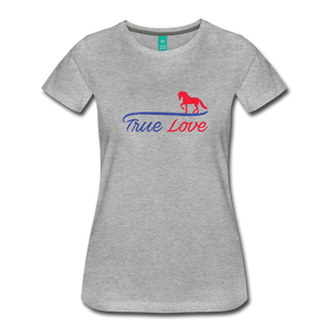 Women's True Love T-Shirt - heather gray