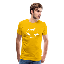 Load image into Gallery viewer, Men's 3-Day Eventing Circle T-Shirt - sun yellow